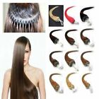 """Loop Micro Rings 100% Real Remy Human Hair Extensions 100S/200S 20"""" Straight"""