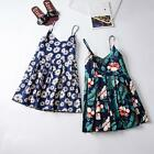 NEW Summer Fashion Sexy V-neck DRESS Ladies Floral Strappy Beach One-piece gift