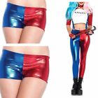 Womens Suicide Squad Party Harley Quinn Costume Shorts Ladies Leggings Pants