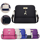 Women Handbag Leather Satchel Shoulder Bag Tote Ladies Messenger Crossbody Purse image