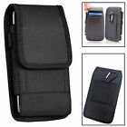 Rugged Nylon Vertical Wallet Belt Pouch Cover For Various Samsung Models