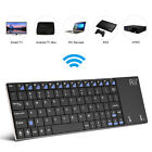 Ultra Slim 2.4G Bluetooth Mini Keyboard with Touchpad for PC Smart TV PS3 HTPC