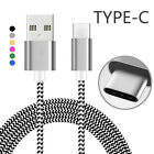 USB-C TypeC 3.1 Cable Nylon Braided Cable Charging Cord Rope For S8 S8Plus LOT