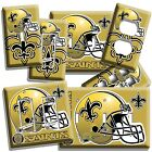 NEW ORLEANS SAINTS FOOTBALL TEAM LIGHT SWITCH OUTLET WALL PLATE COVER BOYS ROOM $16.19 USD on eBay