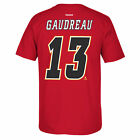 Calgary Flames Johnny Gaudreau Reebok Player T Shirt Men Red $31.99 USD on eBay