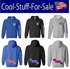 """Chicago Cubs """"Fly The W Go Cubs Go"""" Baseball Zip-Up Hooded Sweatshirt on Ebay"""