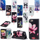 New Card Solt Wallet Pattern PU leather Case Stand Cover For iPhone Huawei Sony