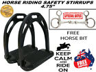 SAFETY SADDLE STIRRUP HORSE RIDING CRYSTALS/DIAMANTE AND OVAL LINK HORSE BIT