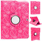 360°Rotating Diamond Bling Leather Stand Case For Samsung Galaxy Tab 4 10.1 T530