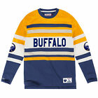 Buffalo Sabres Mitchell  Ness long sleeve Jersey knit