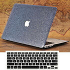 Leather Bling Shiny Hard Case + Keyboard Cover for MacBook Air Pro 11 13 Retina
