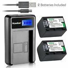 NP-FV70 Battery&LCD USB Charger for Sony DCR-SX45 SX63 SX65 SX83 SX83,FDR-AX100