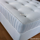 Grey Quilted Memory Foam Matress  Sprung Mattress 3ft Single 4ft6 Double 5ftKing