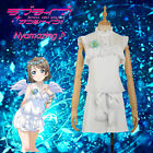 Love Live! Sunshine!! Angel Unawaken Watanabe You White Dress Cosplay Costume