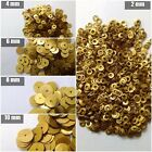 10000 SEQUINS PAILLETTE SPANGLES - 2mm 4mm 6mm 8mm 10mm Flat Round Sewing Craft