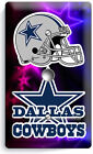 DALLAS COWBOYS NFL FOOTBALL TEAM LOGO LIGHT SWITCH OUTLET PLATE MAN CAVE BEDROOM