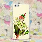 for iPhone 5 5s 6 6s 7 plus Tinkerbell And Peter Pan Love Hard Phone Case