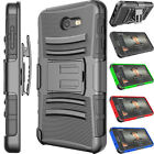 Внешний вид - For Samsung Galaxy J7 Sky Pro/J7 2017/Halo Heavy Duty Locking Holster Clip Case