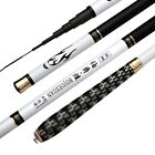 Professional 3.6-7.2m Carbon Sream Fishing Rods Light Hand Poles Telescopic Rod