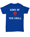 Fun Barbecue Shirt for Dad - King of the Grill - Unisex Tee - BBQ Barbeque Gift