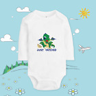 Baby clothing custom made T shirt cotton soft body Dragon Just Hatched XQ88