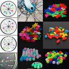 Bicycle Bike Wheel Plastic Spoke Bead Children Kids Clip Col