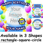 Edible Photo Image Picture Printed on Icing Cake Topper - Happy Birthday - Boy
