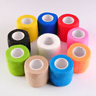 1x Pet Horse Dog Cat Vet Wound Elastic Cohesive Bandage Self Adherent Wrap Tape