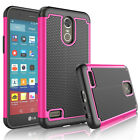 For LG Stylo 3 / Stylus 3 Plus L83BL LS777 Phone Hybrid Rugged Hard Case Cover