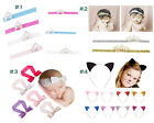Newborn Baby Girl Toddler Infant Headband Lot Kids Bow Hair Band Accessories