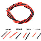 2M 12AWG - 30AWG Standard Silicone Cable Flexible RC Wire For DIY RC Car Models