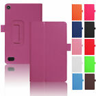 lights for kindle - For Amazon Kindle Fire 7 2017 7th Gen Tablet Case Flip Thin Leather Stand Cover