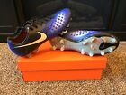 Men's NIKE MAGISTA OPUS II FG SOCCER CLEATS / SPIKES - 843813 018 Futbol - Blue