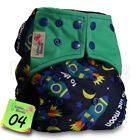 Baby Reusable Washable Pocket Nappy Adjustable Cloth Cover Wrap Bamboo Charcoal