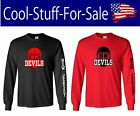 New Jersey Devils Hockey Long Sleeve Shirt $27.19 USD on eBay