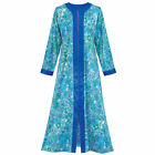 Women's Zip Front Floral Long Robe, by Collections Etc