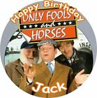"ONLY FOOLS AND HORSES ROUND 7.5""  CAKE TOPPER ICING OR RICEPAPER"