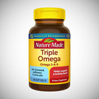 Nature Made TRIPLE OMEGA 3-6-9 Fish Flaxseed Safflower and Olive Oils - 60ct