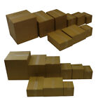 Double Wall Cardboard Moving Boxes Storage Home Removal Packed Postal Cartons