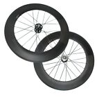 700C Carbon fixed gear/single speed Cycling Wheelset 88mm Clincher Track Wheels