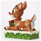 Enesco Jim Shore Rudolph the Red Nosed Reindeer Light Up Christmas Figurine  ...