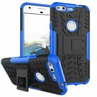 Hybrid ARMOR HEAVY DUTY SHOCKPROOF STAND Rugged Tire Case For GOOGLE Pixel / XL