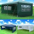 3X6M POP UP Gazebo Wedding Party Tent Canopy Marquee Waterproof W/ Carry Bag New