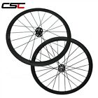 23mm Width 700C Carbon fixed gear Bicycle Wheel 38mm Clincher Track Wheelset