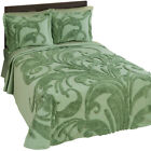 Bethany Scroll Chenille Bedspread, by Collections Etc