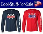Atlanta Braves Baseball Long Sleeve  Shirt on Ebay