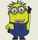 24 Despicable Minion Machine Embroidery Designs - CD/USB/Floppy - 11 Formats