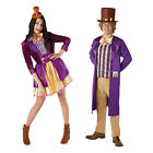Rubies Mens Womens Official Licensed Willy Wonka Fancy Dress Costume Outfit