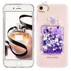 For iPhone 7 / 7 Plus/ 6 /6 Plus Liquid Bling Glitter Sparkle Diamond Case Cover