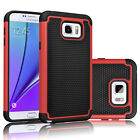 For Samsung Galaxy Note 5 Case Shockproof Hybrid Defender Rugged Rubber Cover